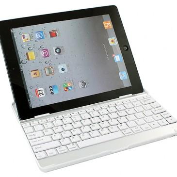 Apple iPad 2 / 3 / 4 Näppäimistö Kotelo Alumiini