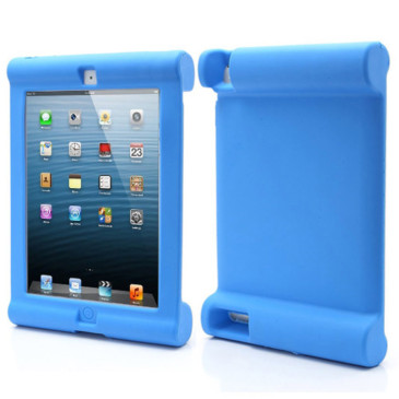 Apple iPad 2, 3, 4 Silikonisuoja Sininen