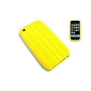 Apple iPhone 3G/3GS Keltainen Rengas Suoja