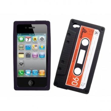 Apple iPhone 4 / 4S C-Kasetti Silikooni Suojakuori