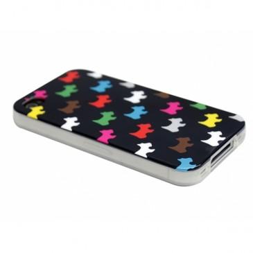 Apple iPhone 4 / 4S Koirat Suojakuori Musta