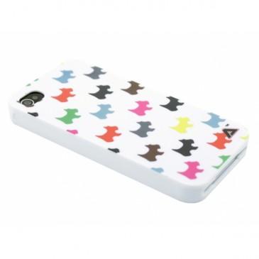 Apple iPhone 4 / 4S Koirat Suojakuori Valkoinen