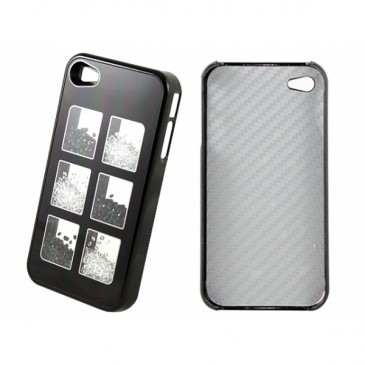 Apple iPhone 4 / 4S Musta Must./Valk. Kivillä