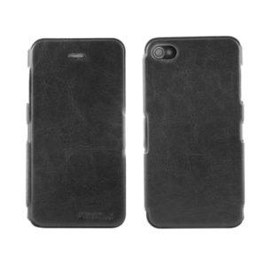 Apple iPhone 4 / 4S Ohut Läppäkuori Musta