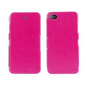 Apple iPhone 4 / 4S Ohut Läppäkuori Pinkki