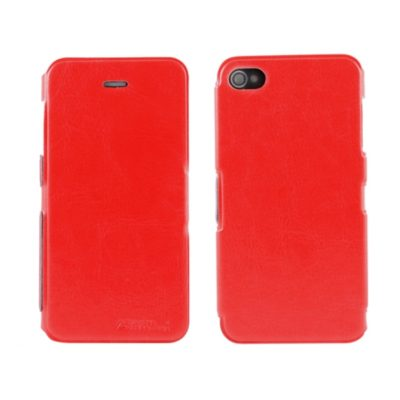 Apple iPhone 4 / 4S Ohut Läppäkuori Punainen