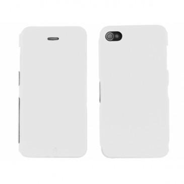 Apple iPhone 4 / 4S Ohut Läppäkuori Valkoinen