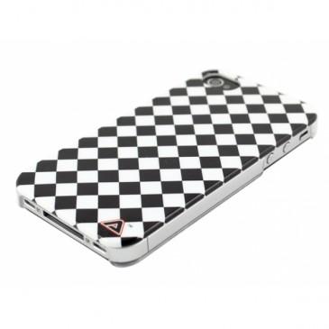 Apple iPhone 4 / 4S Tammipelin Ruudut Kuori