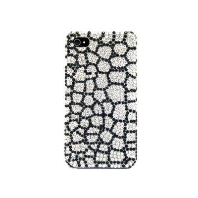 Apple iPhone 4 / 4S Timantti Kuori Käärmeennahka