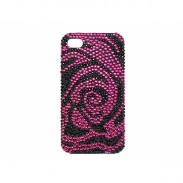 Apple iPhone 4 / 4S Timantti Kuori Ruusutarha