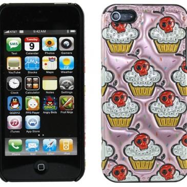 Apple iPhone 5 / 5S / SE 3D Mash Muffins Suojakuori