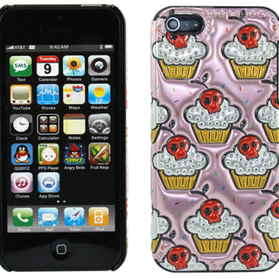 Apple iPhone 5 / 5S / SE 3D Mash Muffins Suojakuori