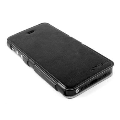 Apple iPhone 5 / 5S Ohut Läppäkuori Musta