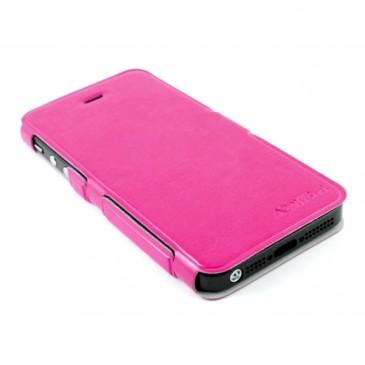 Apple iPhone 5 / 5S Ohut Läppäkuori Pinkki