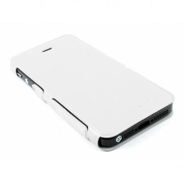 Apple iPhone 5 / 5S Ohut Läppäkuori Valkoinen