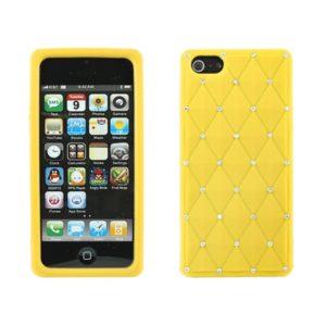Apple iPhone 5 / 5S / SE Timantti Kuori Keltainen