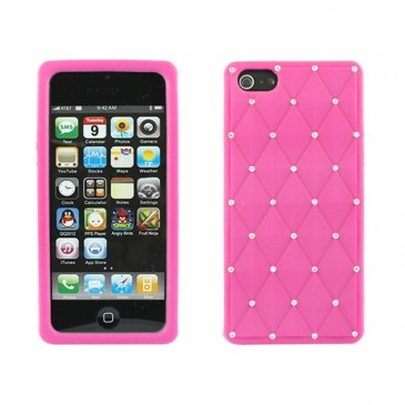 Apple iPhone 5 Timantti Suojakuori Pinkki