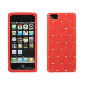 Apple iPhone 5 / 5S / SE Timantti Kuori Punainen
