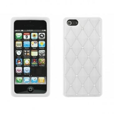Apple iPhone 5 Timantti Kuori Valkoinen