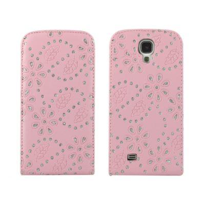Samsung Galaxy S4 Timantti Läppäkotelo V. Punainen