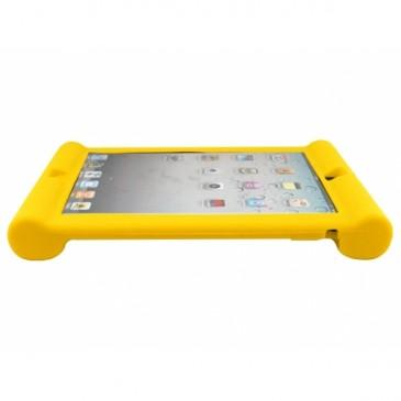 Apple iPad 2, 3, 4 Silikoonisuoja Keltainen