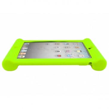 Apple iPad 2, 3, 4 Silikoonisuoja Vihreä Lime
