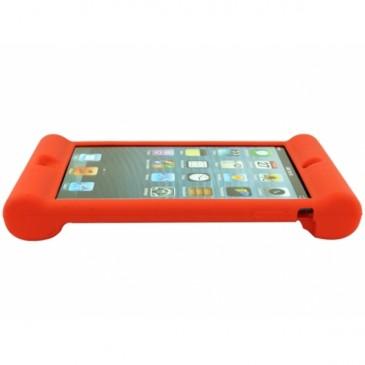 Apple iPad Mini Silikoonisuoja Punainen
