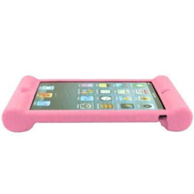 Apple iPad Mini Silikooni Suoja Vaaleanpunainen