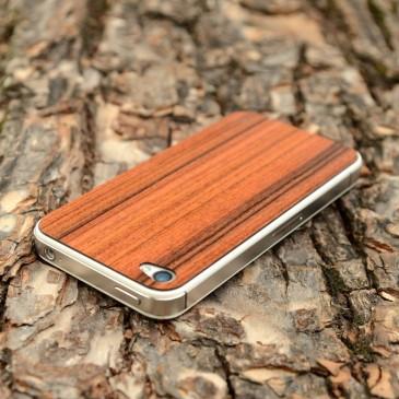 Apple iPhone 4 / 4S Ruusupuu Rosewood Puukuori