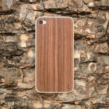 Apple iPhone 4 / 4S Walnut Pähkinäpuu Puukuori