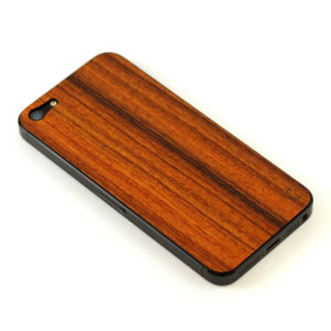 Apple iPhone 5 Rosewood Ruusupuu Puukuori