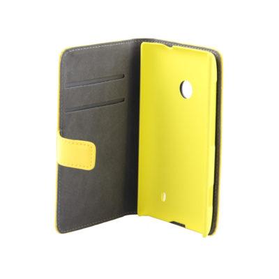 Nokia Lumia 520 Läppäkotelo Keltainen