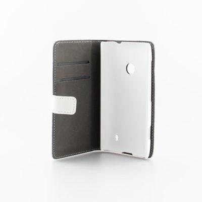 Nokia Lumia 520 Läppäkotelo Valkoinen