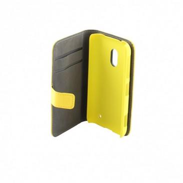 Nokia Lumia 620 Läppäkotelo Keltainen