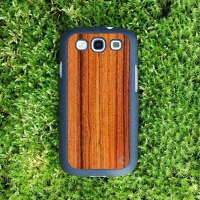 Samsung Galaxy S3 Ruusupuu Puu Suojakotelo