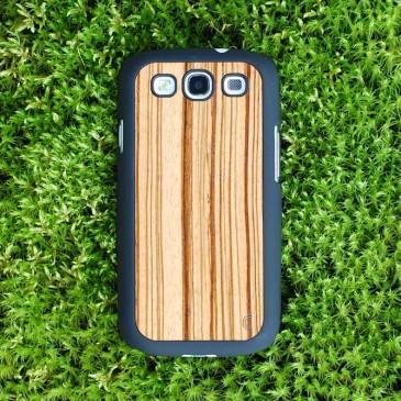 Samsung Galaxy S3 Zebrawood Suojakotelo