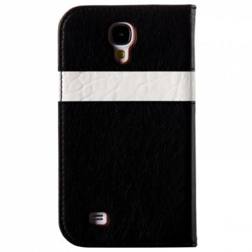Samsung Galaxy S4 KLD Läppäkotelo Musta