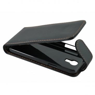 Samsung Galaxy S4 Mini Musta Läppäkotelo