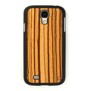 Samsung Galaxy S4 Zebrawood Suojakotelo
