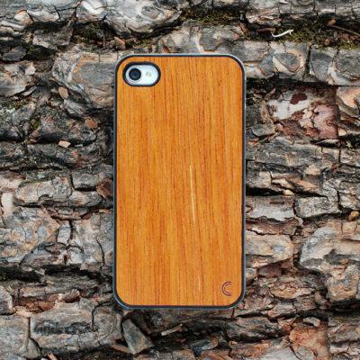 Apple iPhone 4 / 4S Merbau Puu Suojakotelo