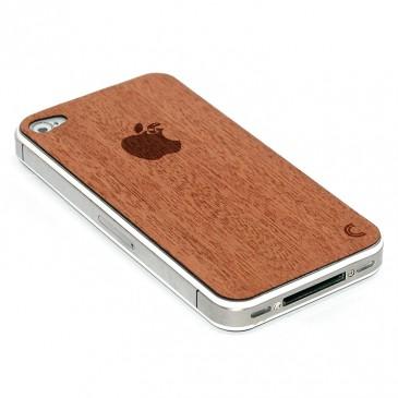 Apple iPhone 4 / 4S Omena Madolla Mahonki Puukuori