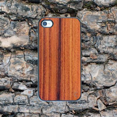 Apple iPhone 4 / 4S Ruusupuu Puu Suojakotelo