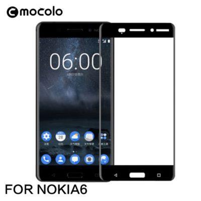 Nokia 6 Täysin Peittävä Suojalasi Mocolo Musta