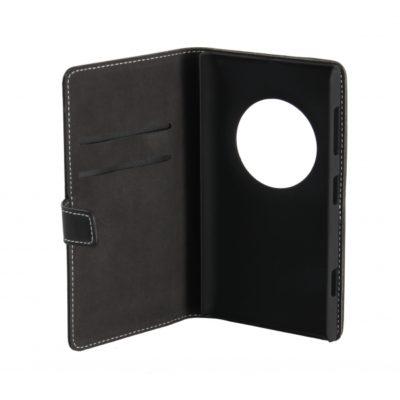 Nokia Lumia 1020 Läppäkotelo Musta Nahka