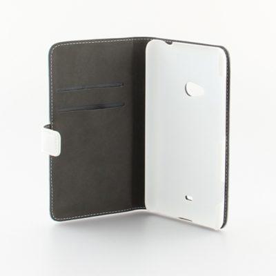 Nokia Lumia 625 Läppäkotelo Valkoinen