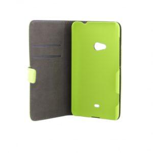 Nokia Lumia 625 Läppäkotelo Lime Vihreä