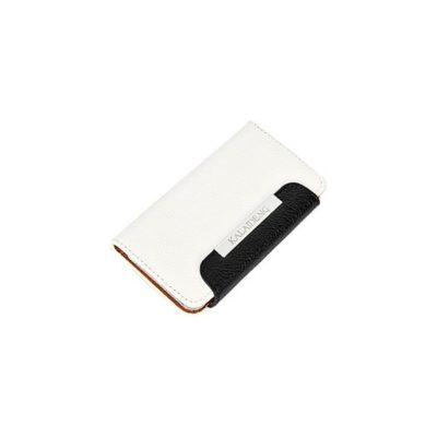 Samsung Galaxy S4 Fresh Valkoinen Läppäkotelo
