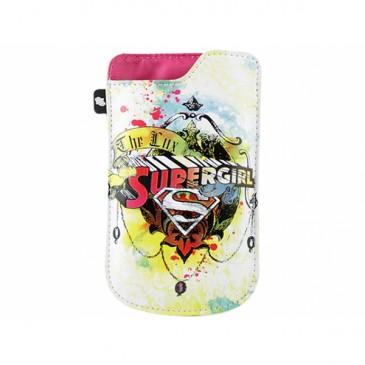 Valkoinen Supergirl Suoja Useisiin Puhelimiin