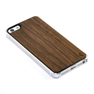 Apple iPhone 5 / 5S Pähkinä Puu Suojakotelo