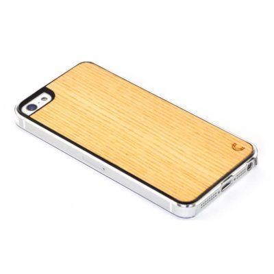 Apple iPhone 5 / 5S Vaalea Saarni Suojakotelo
